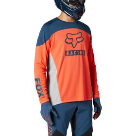Fox Defend Foxhead LS Jersey Men, oranje